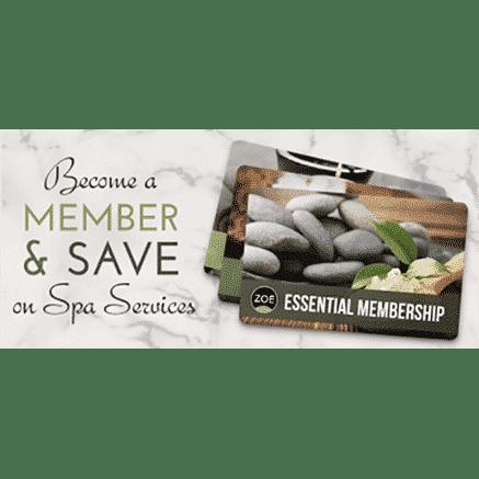 spa membership card