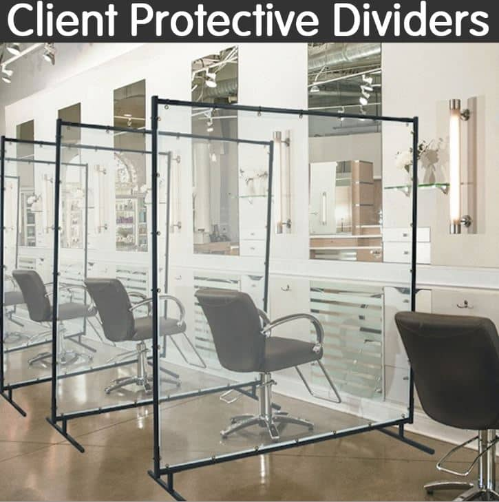 salon protective divider