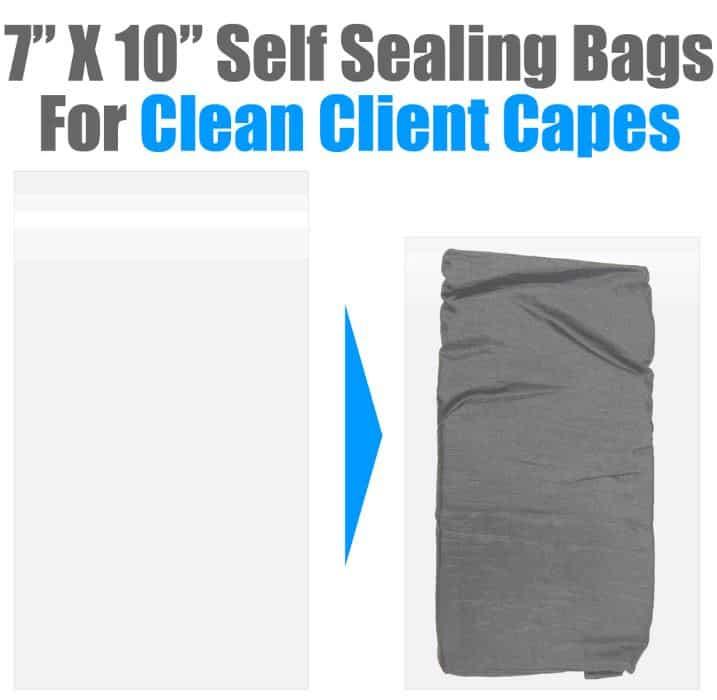 bagged client cape
