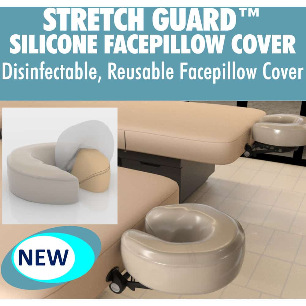 disinfectable face cover pillow